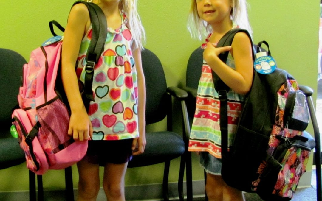 "A Precious Child's ""Fill a Backpack Program"""