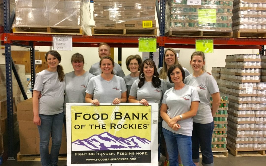RSS Volunteers at Food Bank of the Rockies