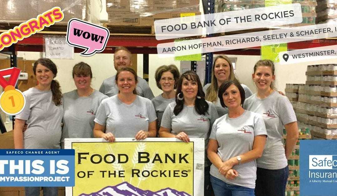 RSS Wins $2,000 for Food Bank of the Rockies!