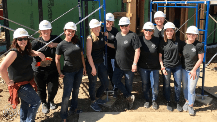 RSS Volunteers with our Charity of the Quarter-Habitat for Humanity
